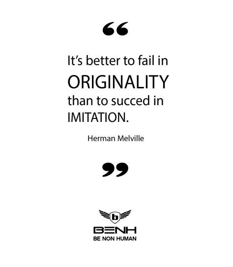 Originality Quote
